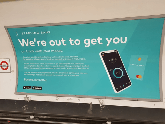 starling tube ad