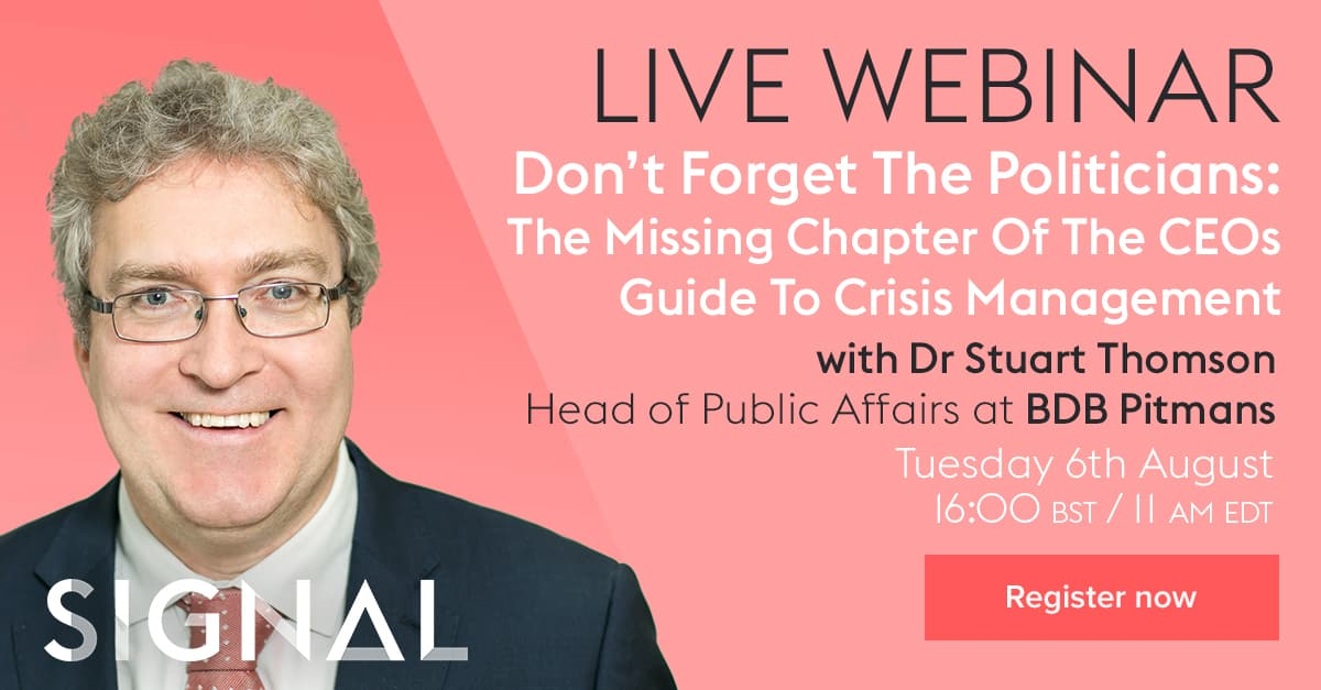increase registrations for our public affairs webinar
