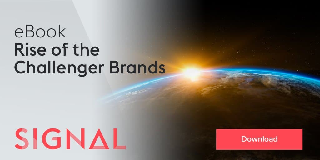 Increase downloads of Rise of the Challenger Brands whitepaper