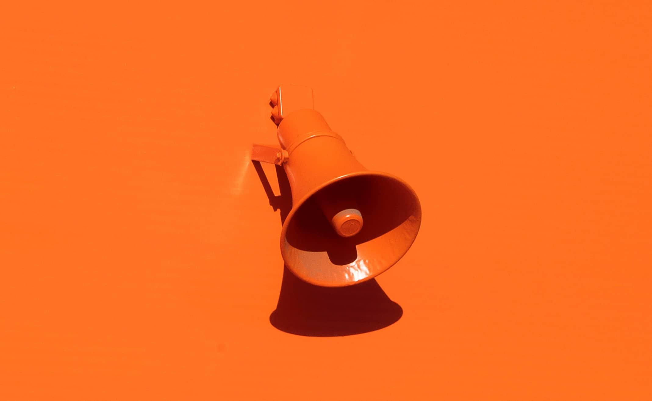 Image of a megaphone to display Share of Voice