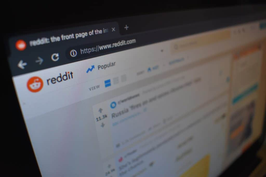 Reddit website
