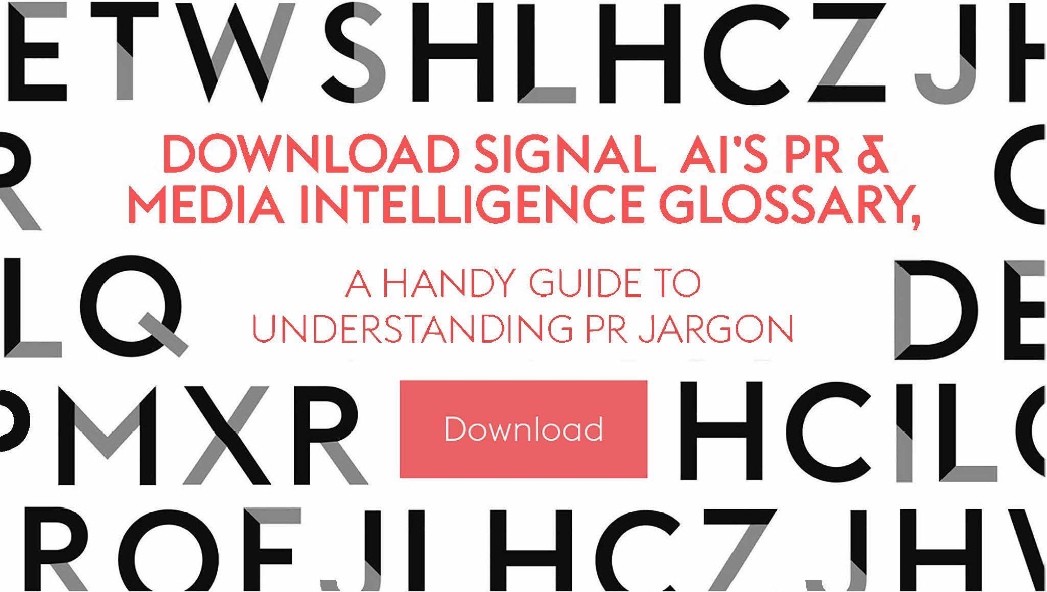 CTA Download for PR & Media Intelligence Glossary