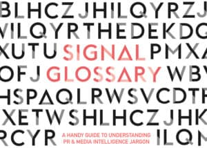 Landing page image for PR & Media Intelligence Glossary