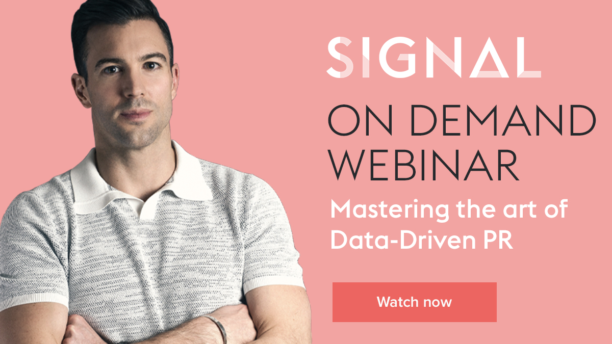 on demand webinar data driven pr