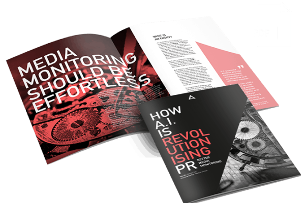 CTA for download of AI revolutionising PR report