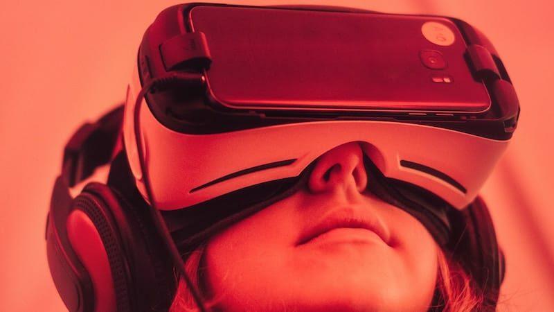 Virtual reality headset hero image