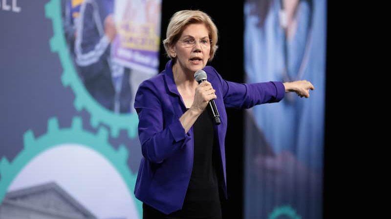 Hero image of Democratic candidate Elizabeth Warren
