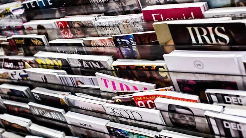 Hero image of a magazine rack