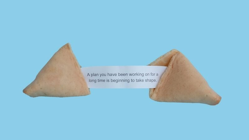 Hero image of a fortune cookie to represent strategic PR opportunities