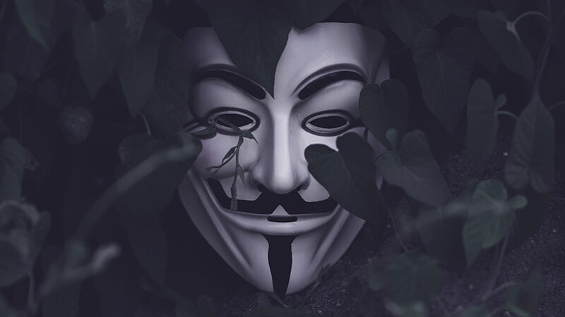 Hero image of Guy Fawkes mask