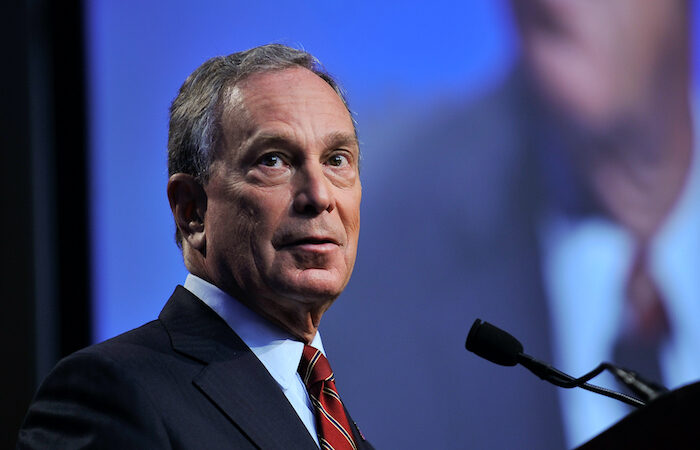 Hero image of Michael Bloomberg for Democratic Primaries Index
